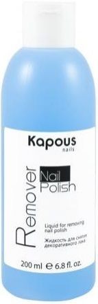 Kapous Manicure Hi-Lac Жидкость для снятия декоративного лака Nail Polish Remover