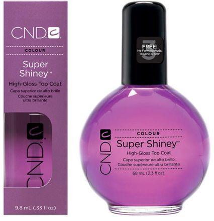 CND Super Shiney Верхнее покрытие Суперблеск (мокрый лак)