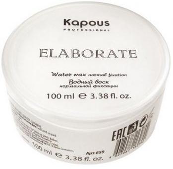 Kapous Professional Водный воск нормальной фиксации Elaborate