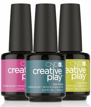 CND Профессиональный гель лак для ногтей Creative Play
