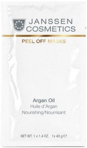 Janssen Обогащённая липидами альгинатная маска с аргановым маслом Argan Oil