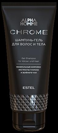 Estel Alpha Homme Chrome Шампунь-гель для волос и тела