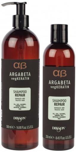 Dikson Argabeta vegKeratin Шампунь для ослабленных и химически обработанных волос