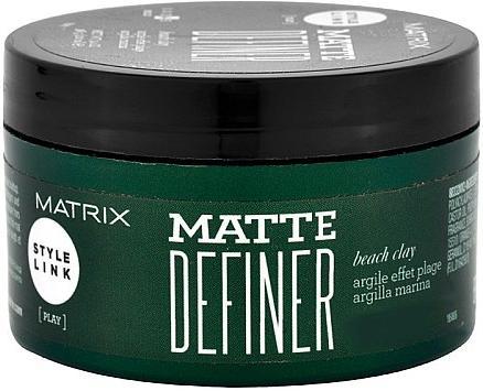 Matrix Style Link Матовая глина для волос Matte Definer