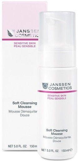 Janssen Sensitive Skin Нежный очищающий мусс Soft Cleansing Mousse