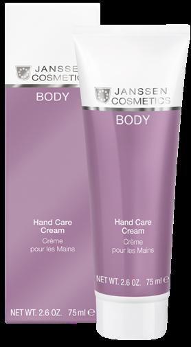 Janssen Body Увлажняющий восстанавливающий крем для рук Hand Care Cream