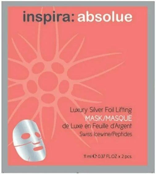 inspira absolue Роскошная лифтинг-маска с серебряной фольгой Luxury Silver Foil Lifting Mask