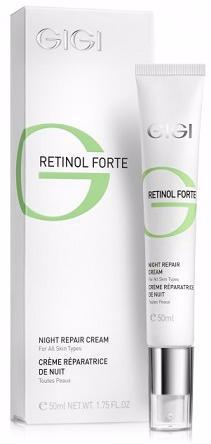 GIGI Retinol Forte Ночной восстанавливающий лифтинг крем