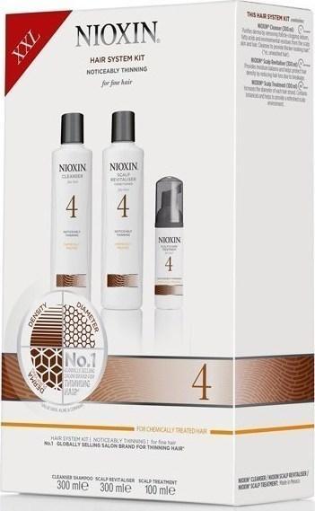 Nioxin 3-х ступенчатые системы против выпадения волос XXL