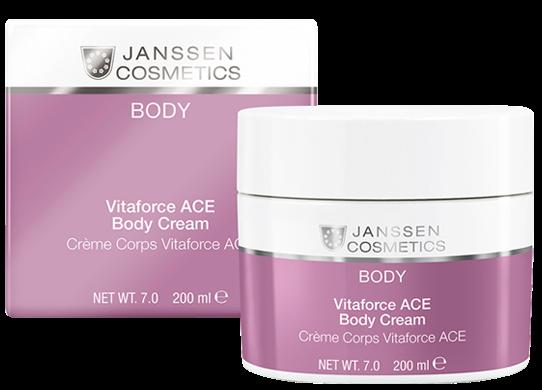 Janssen Body Насыщенный крем для тела с витаминами Vitaforce ACE Body Cream
