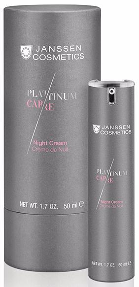Janssen Platinum Care Реструктурирующий ночной крем Night Cream