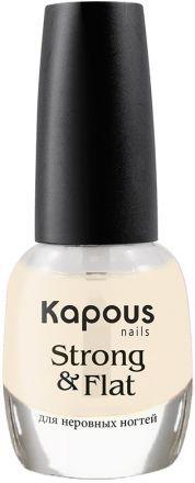 Kapous Manicure Hi-Lac Укрепляющее базовое покрытие Strong and Flat