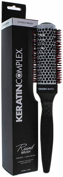 Keratin Complex Брашинг Round Brush with Thermal Comb