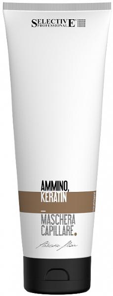 Selective Artistic Flair Восстанавливающая маска для волос Ammino Keratin