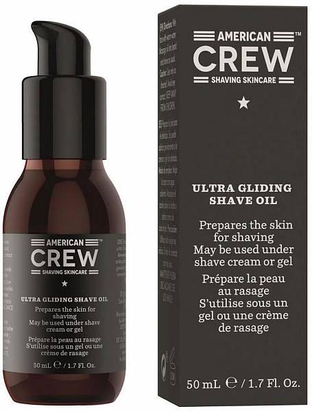 American Crew Масло для бритья Ultra Gliding Shave Oil