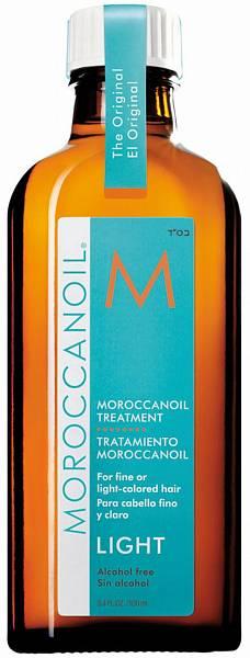 Moroccanoil Восстанавливающее масло для тонких и светлых волос Treatment Light
