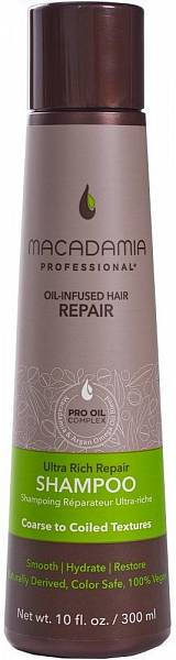 Macadamia Professional Шампунь восстанавливающий для жёстких волос