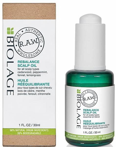 Matrix Biolage RAW Масло ребаланс для кожи головы Rebalance Scalp Oil