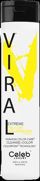 Celeb Viral Шампунь оттеночный Ярко жёлтый