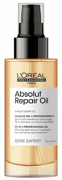 Loreal Absolut Repair Oil Масло для восстановления поврежденных волос 10 в 1