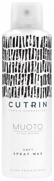 Cutrin MUOTO Невесомый спрей-воск Soft Spray Wax