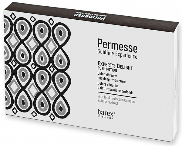 Barex Permesse Сыворотка активирующая Expert's Delight Push Potion
