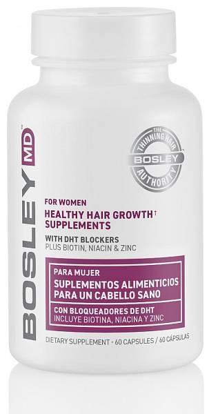 Bosley MD ReGrowth Комплекс витаминно-минеральный для оздоровления и роста волос для женщин