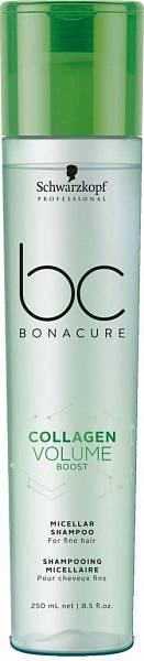 Schwarzkopf BC Collagen Volume Boost Мицеллярный шампунь для объёма волос