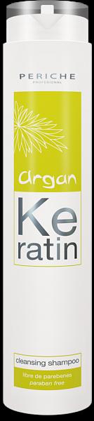 Periche Argan Keratin Очищающий шампунь Cleansing