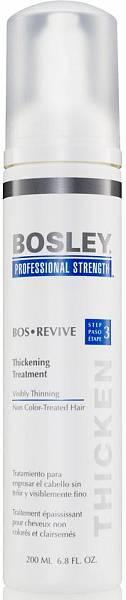 Уход увеличивающий густоту истонченных неокрашенных волос Bosley Revive
