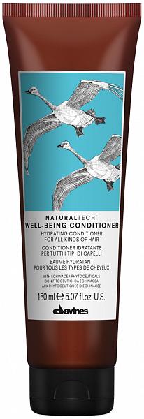 Davines Natural Tech Well Being Увлажняющий кондиционер для здоровья волос