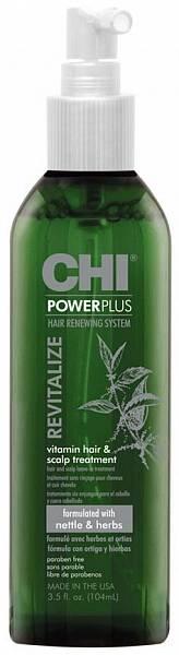 CHI Power Plus Восстанавливающее витаминное средство для ухода за волосами и кожей головы