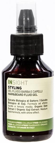 Insight Styling Гель - флюид для волос и бороды