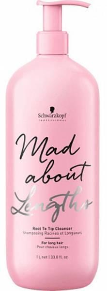 Schwarzkopf Mad About Lengths Бессульфатный шампунь для волос