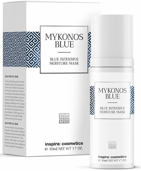 Inspira Mykonos Blue Интенсивно увлажняющая маска Intensive Moisture