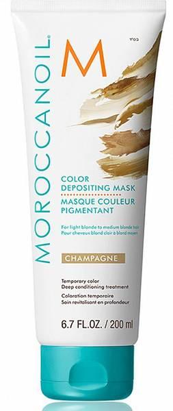 Moroccanoil Color Тонирующая маска Champagne с расчёской в подарок