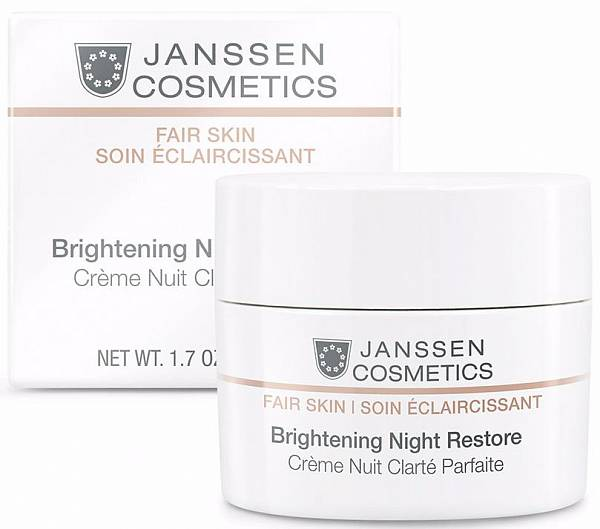 Janssen Fair Skin Осветляющий ночной крем Brightening Night Restore