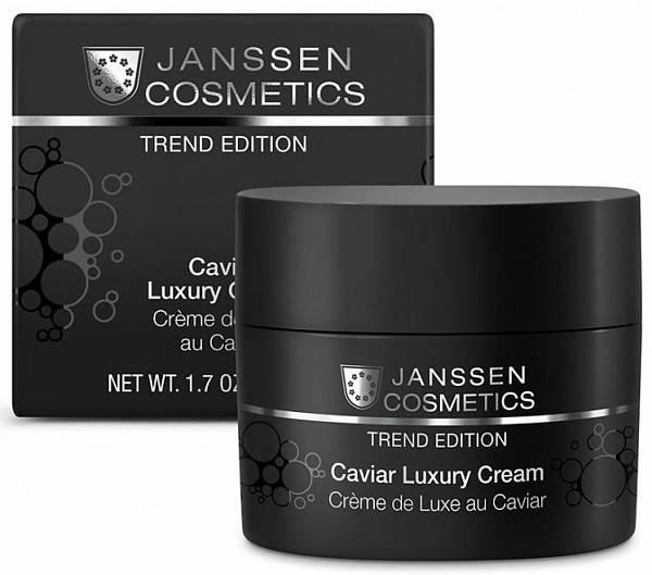Janssen Trend Edition Обогащённый крем с экстрактом чёрной икры Caviar Luxury