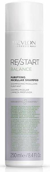 Revlon ReStart Balance Мицеллярный шампунь для жирной кожи