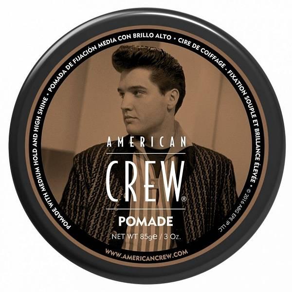 American Crew Elvis Presley Помада со средней фиксацией King Pomade