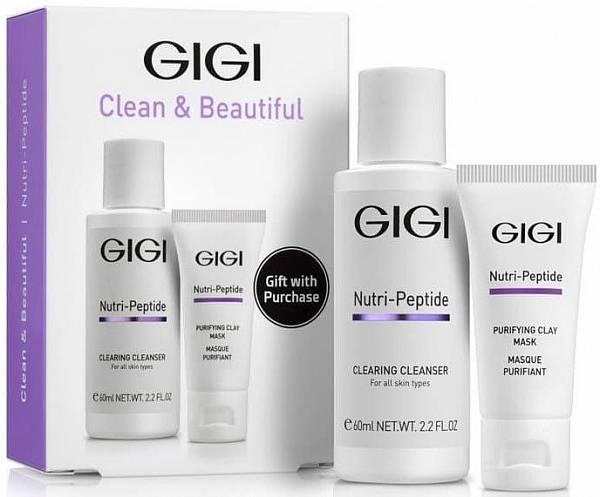 GIGI Nutri Peptide Дорожный набор для идеально чистой кожи
