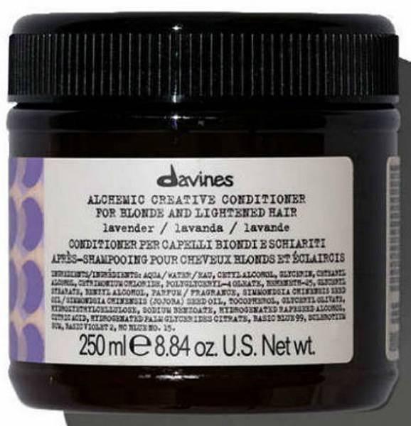 Davines Alchemic Креативный кондиционер для осветленных и натуральных блондов оттенок (лавандовый)