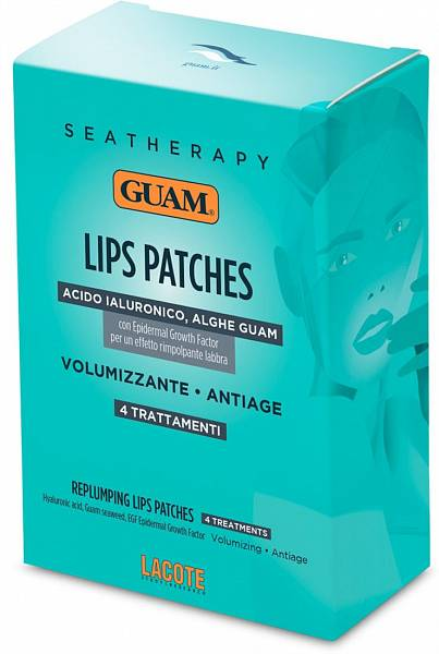 Guam Патчи для увеличения объема губ Seatherapy