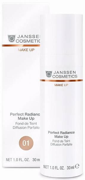 Janssen Стойкий тональный крем с UV-защитой SPF-15 для всех типов кожи