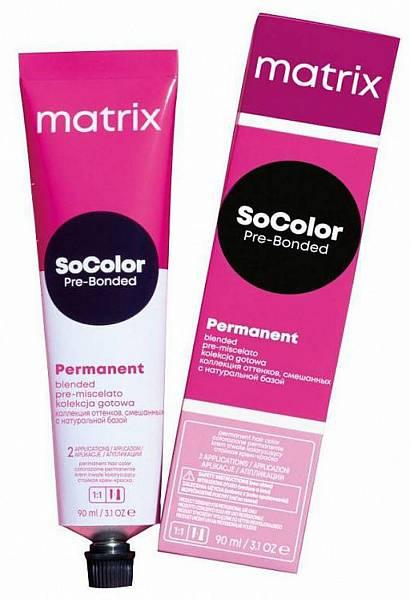 Matrix SoColor Pre-Bonder крем краска для волос с бондером
