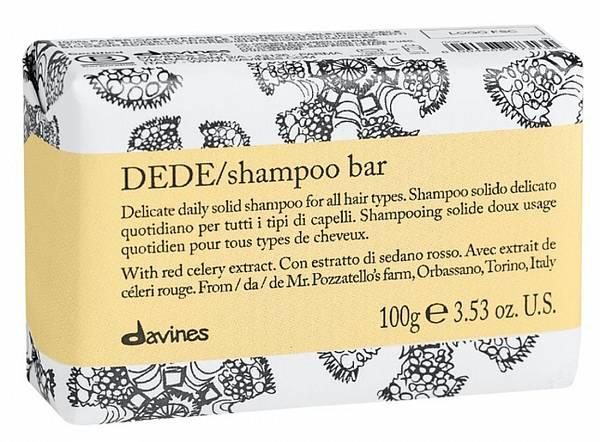 Davines Essential Твёрдый шампунь DEDE для деликатного очищения волос