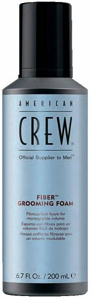 American Crew Пена для укладки волос Fiber Grooming Foam