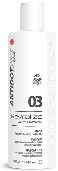AntidotPro Маскa для кожи головы и повреждённых волос Revitalize 03