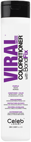 Celeb Viral Кондиционер тонирующий Фиолетовый