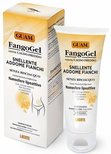 Guam Гель для живота и талии антицеллюлитный Fangogel